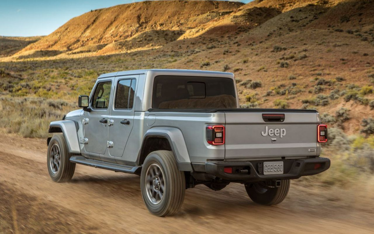 2021 Jeep Gladiator model image
